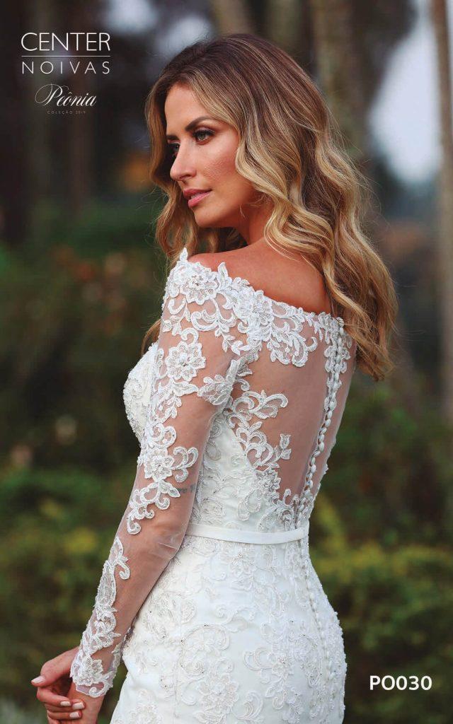 A Linda Noiva Coleção Peônia 2019 – Vestido de Noiva PO030 A