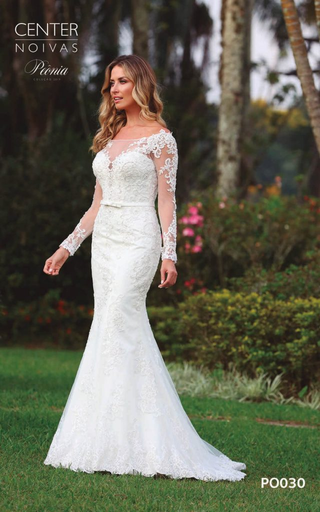A Linda Noiva Coleção Peônia 2019 – Vestido de Noiva PO030 C