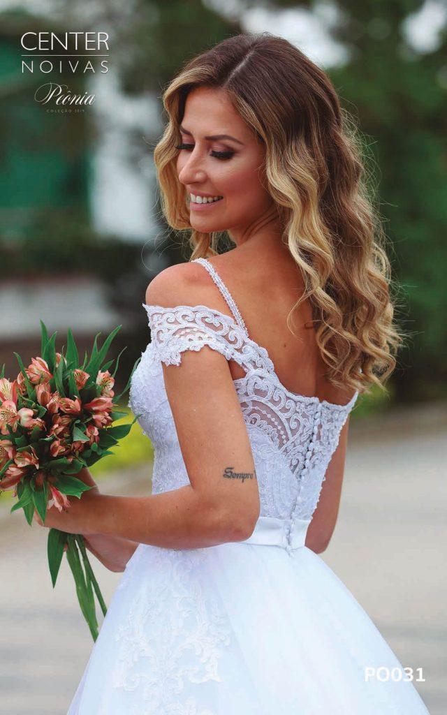 A Linda Noiva Coleção Peônia 2019 – Vestido de Noiva PO031 A