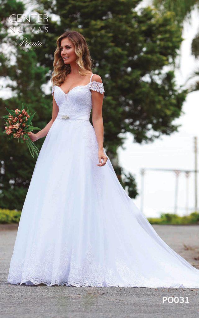 A Linda Noiva Coleção Peônia 2019 – Vestido de Noiva PO031 B