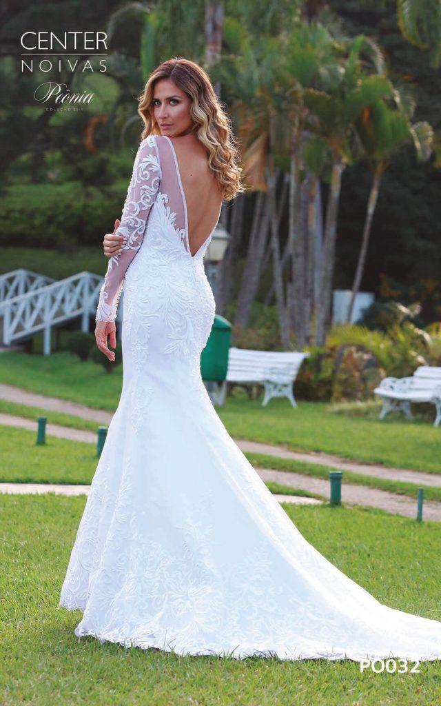 A Linda Noiva Coleção Peônia 2019 – Vestido de Noiva PO032 A