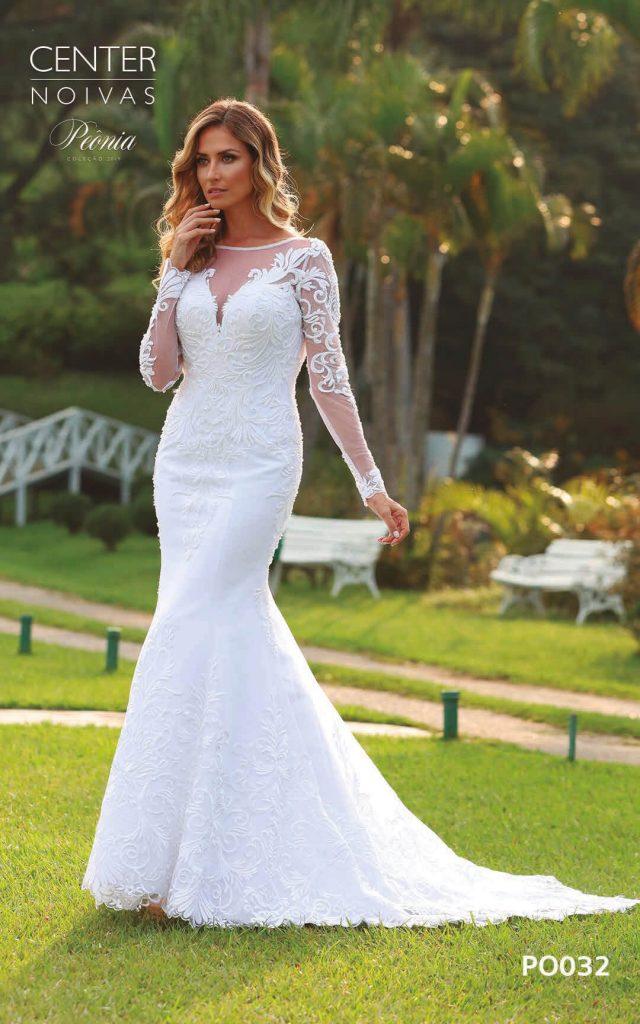 A Linda Noiva Coleção Peônia 2019 – Vestido de Noiva PO032 B