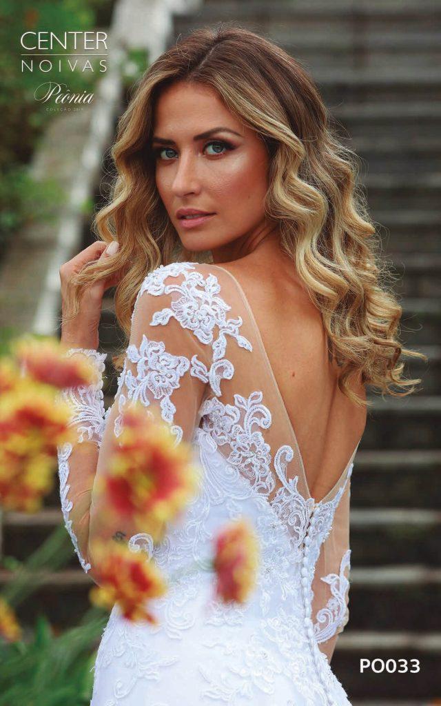 A Linda Noiva Coleção Peônia 2019 – Vestido de Noiva PO033 A