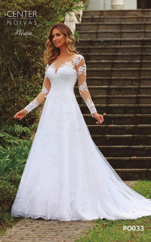 A Linda Noiva Coleção Peônia 2019 – Vestido de Noiva PO033 B