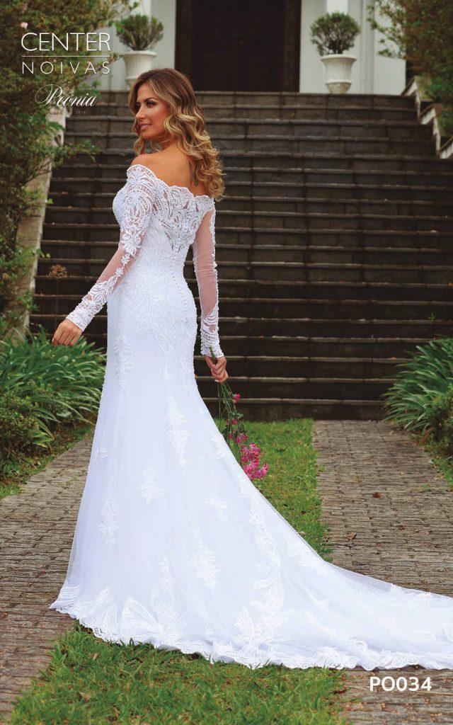 A Linda Noiva Coleção Peônia 2019 – Vestido de Noiva PO034 A